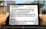 5 Star Rating for Music for Wellness, LLC Norfolk Remarkable 5 Star Review by Melissa